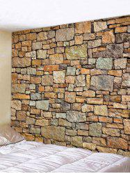 Stone Wall Pattern Tapestry -