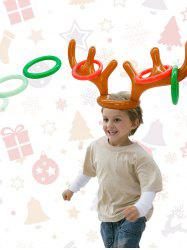 Christmas Party Accessories Inflatable Antler Hat Balloon -
