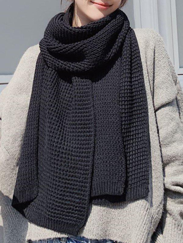 Hot Winter Knitting Solid Long Scarf