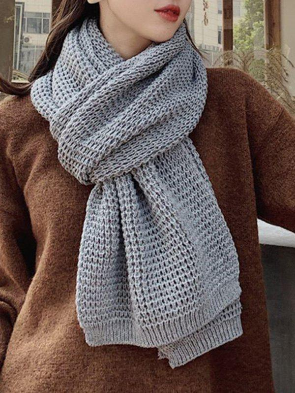 Winter Knitting Solid Long Scarf фото