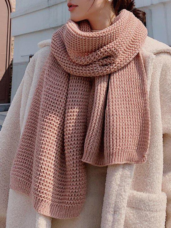 Shops Winter Knitting Solid Long Scarf
