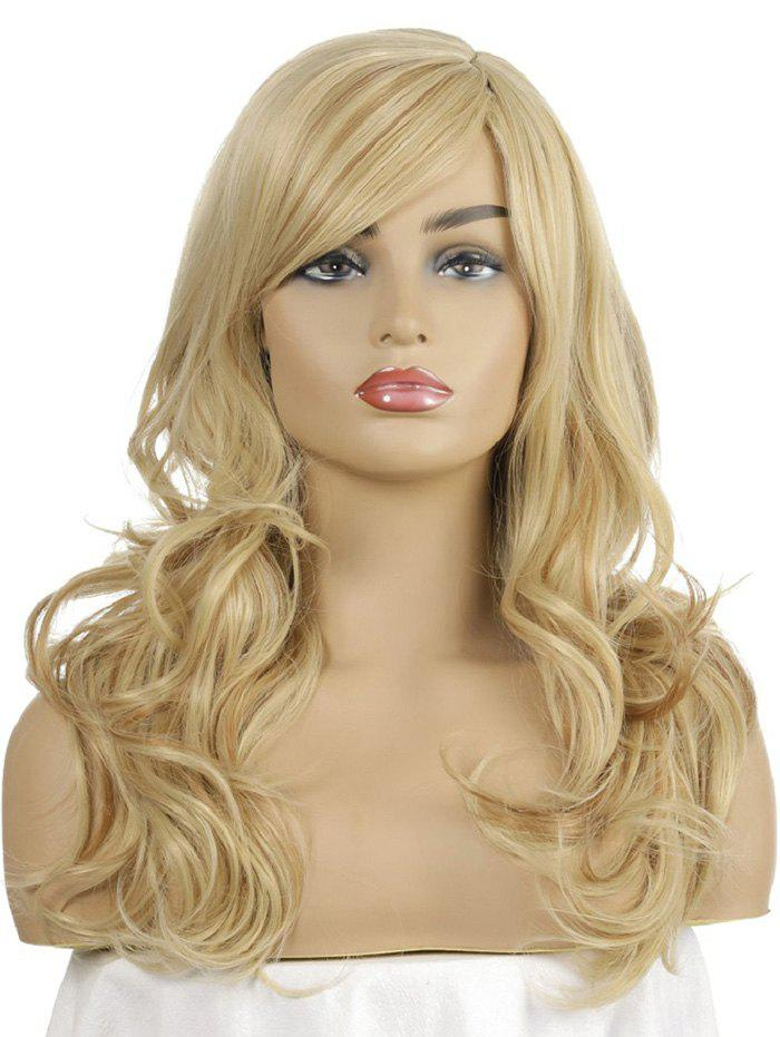 Store Synthetic Long Side Part Body Wave Wig