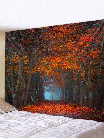 Decoration | Tapestry | Forest | Maple | Print | Road | Hang | Wall | Art