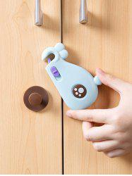 Cartoon Whale Shape Multi-purpose Baby Safety Drawer Door Lock Buckle Protection -