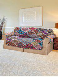 Christmas Bohemian Patchwork Pattern Couch Cover -