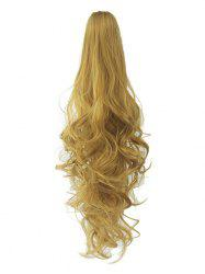 Long Deep Body Wave Synthetic Clip-on Hair Piece -