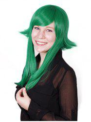 Side Bang Straight High Low Synthetic Cosplay Wig -