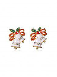 Rhinestone Bell Earrings -
