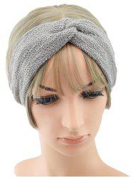 Knitted Knot Solid Sports Headband -