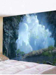Mountains River Print Tapestry Wall Hanging Art Decor -