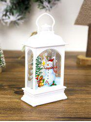 Christmas Decorations Creative Transparent Lantern Light -