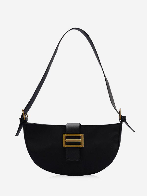 Hot Buckle Semicircle Retro Handbag