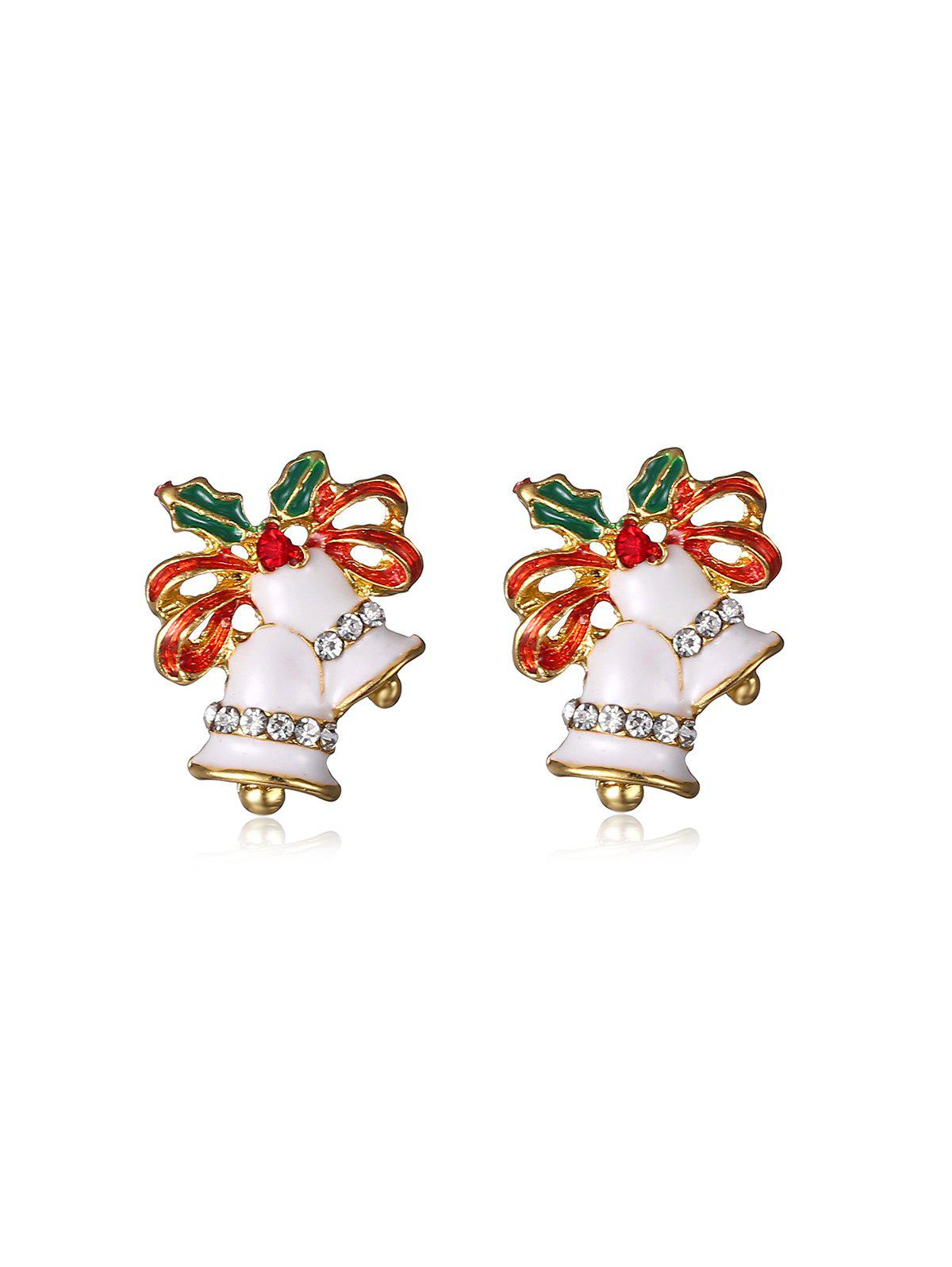 Affordable Rhinestone Bell Earrings