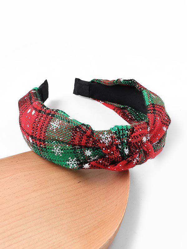 Outfits Snowflake Christmas Gingham Hairband