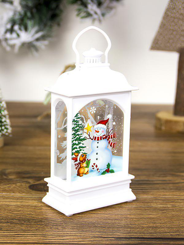 New Christmas Decorations Creative Transparent Lantern Light