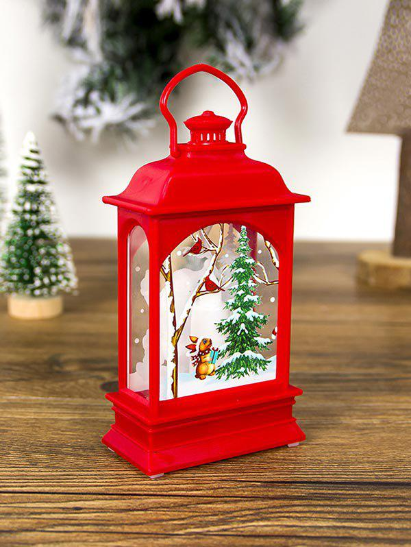 Outfit Christmas Decorations Creative Transparent Lantern Light