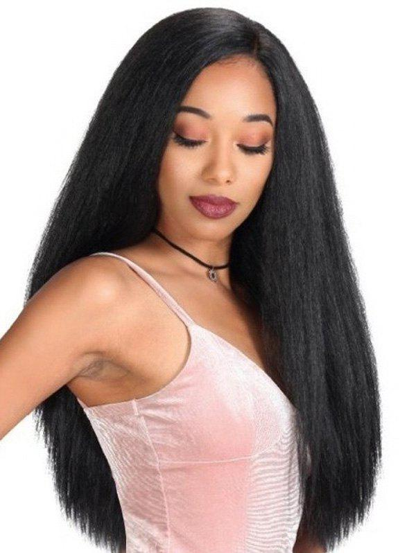 Chic Long Straight Synthetic Side Part Wig