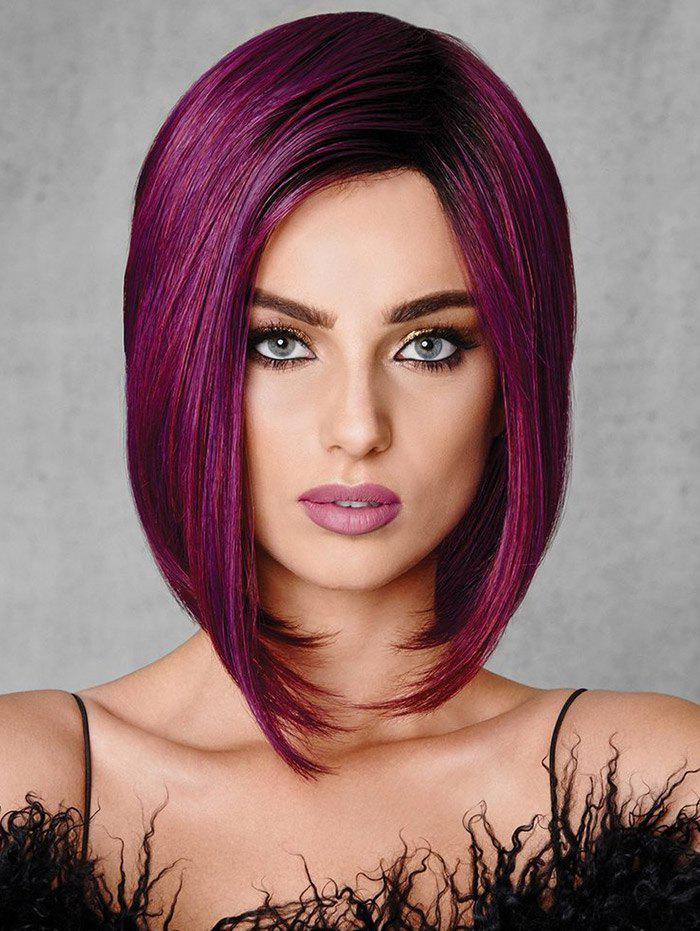 Store Side Part Straight Medium Synthetic Bob Wig