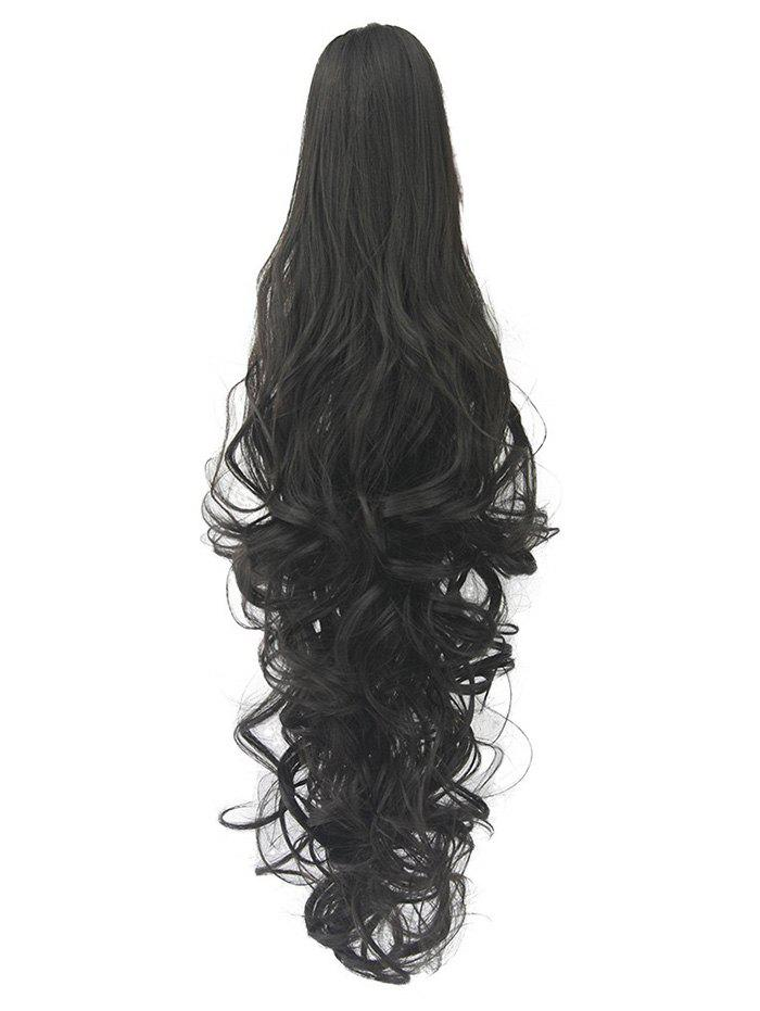 Buy Long Deep Body Wave Synthetic Clip-on Hair Piece