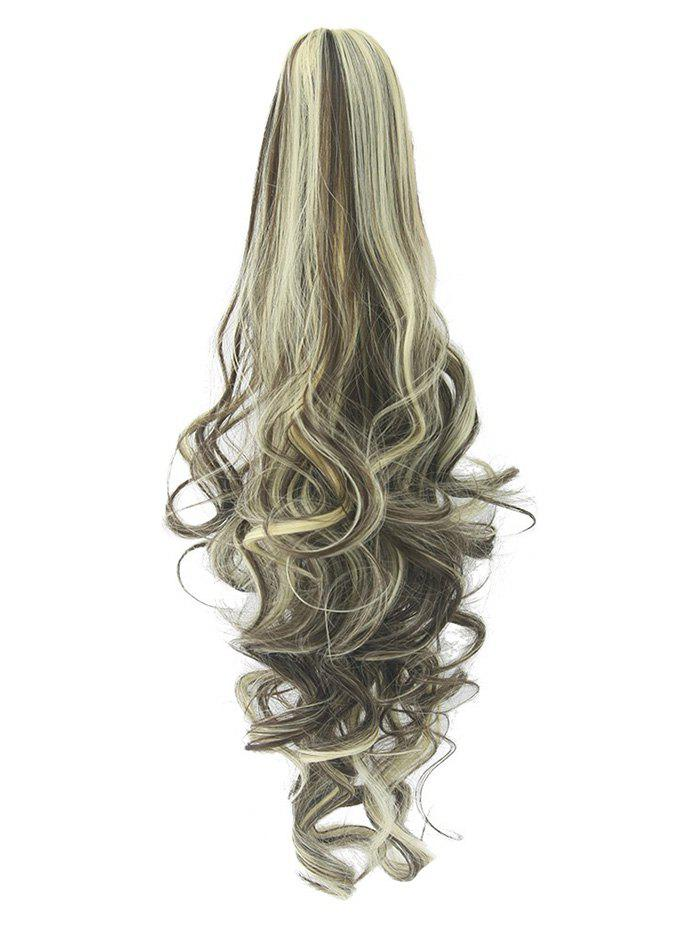 Best Long Deep Body Wave Synthetic Clip-on Hair Piece