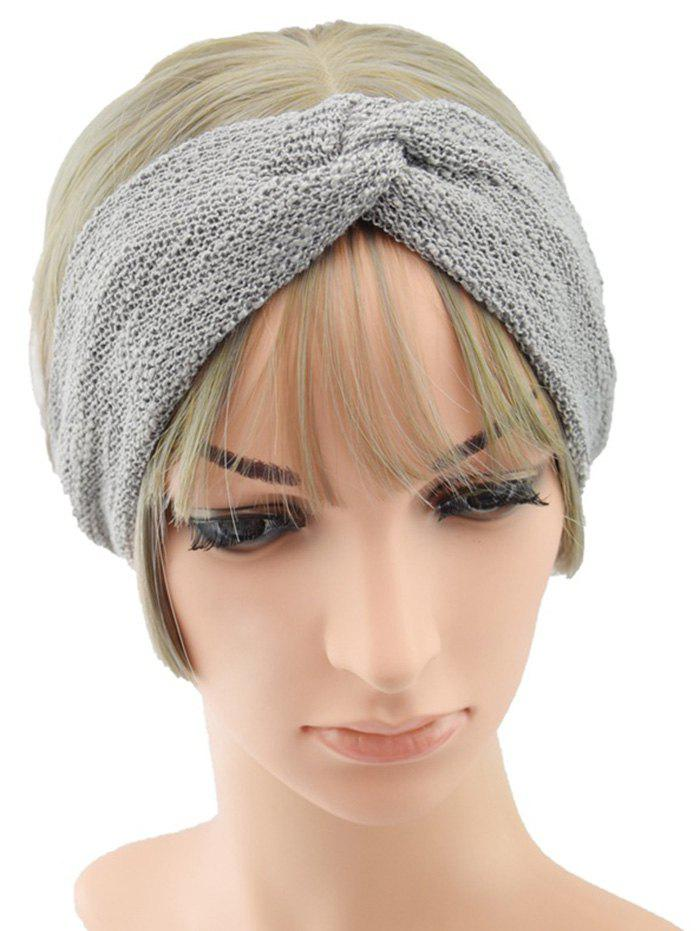 Shop Knitted Knot Solid Sports Headband