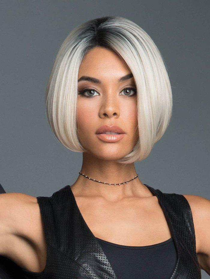 Outfit Ombre Straight Bob Synthetic Center Part Wig
