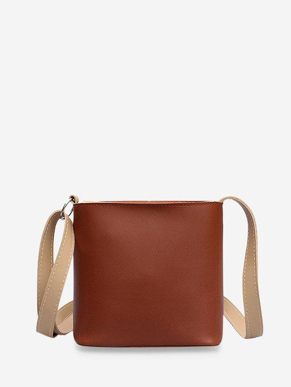 Unique PU Leather Mini Bucket Bag