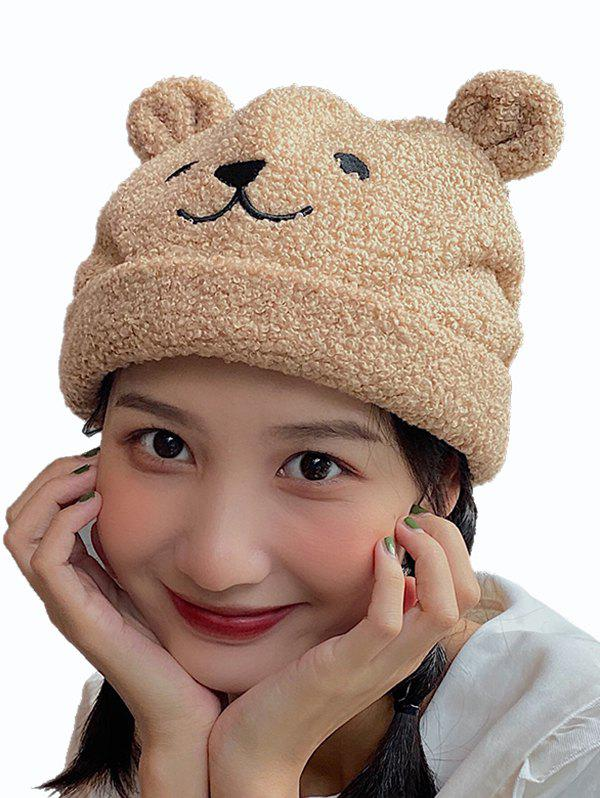 Affordable Bear Suede Ears Hat