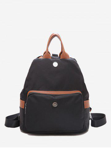 Multi-functional PU Leather Casual Backpack