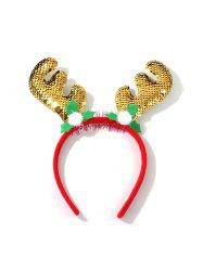 Christmas Elk Antlers Sequins Hair Band -