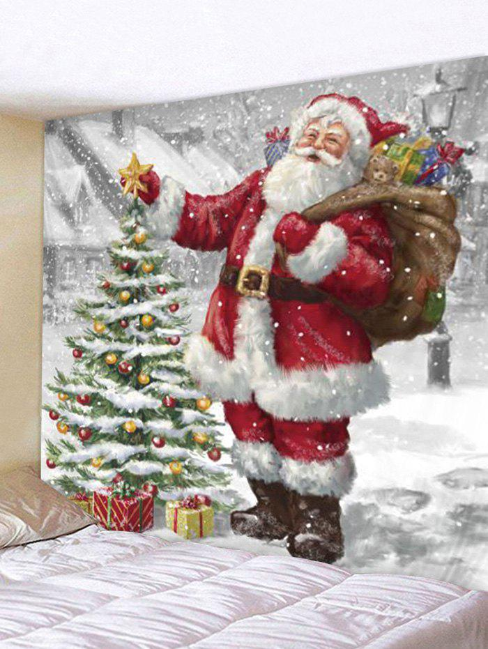 Buy Christmas Tree Santa Claus Wall Tapestry