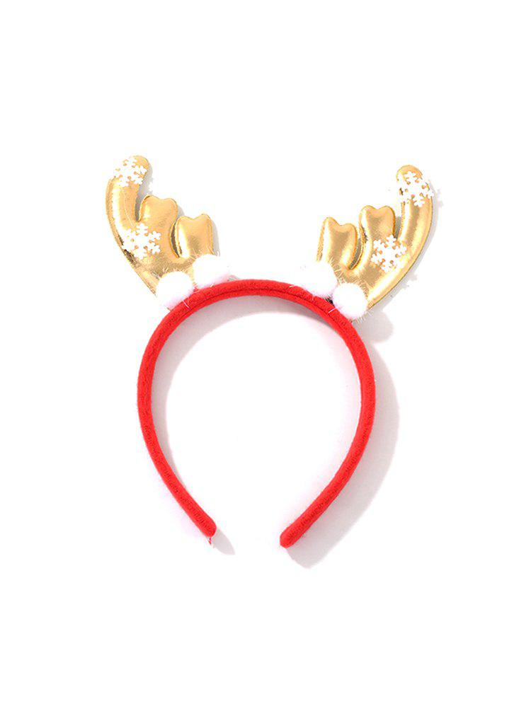 Buy Christmas Elk Antlers Shape Hair Band