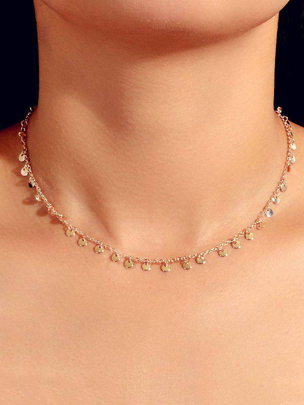 Buy Discs Alloy Chain Necklace