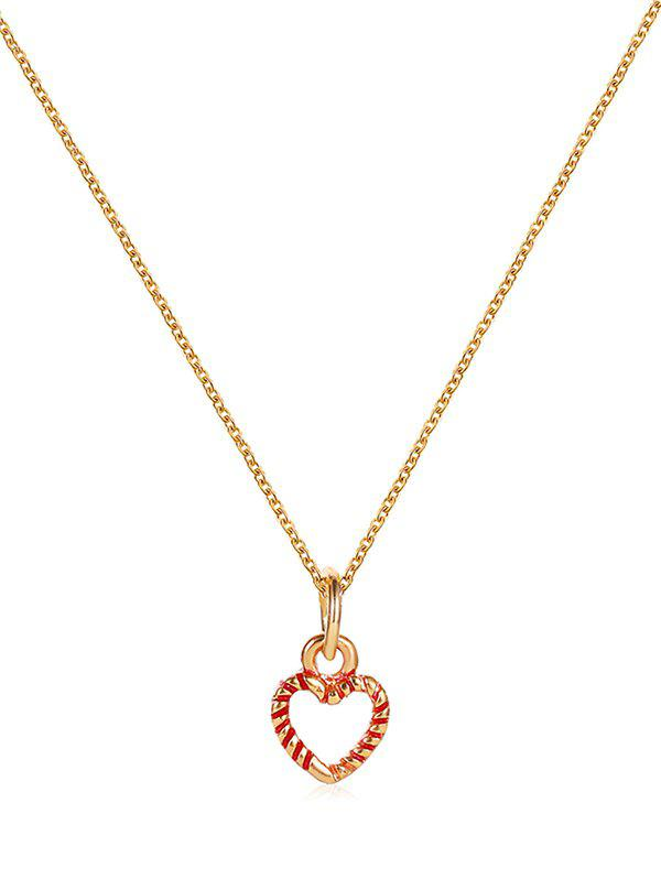 Affordable Christmas Pattern Pendant Chain Necklace