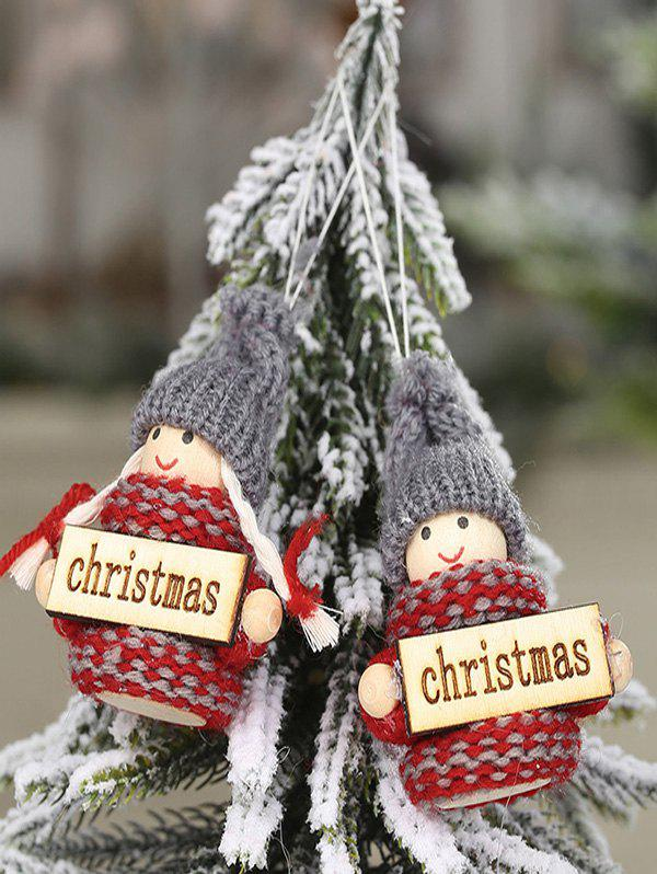 Shop Christmas Ornaments Knitted Hanging Dolls