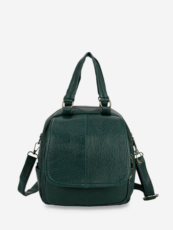 Sale Solid Leather Casual Backpack