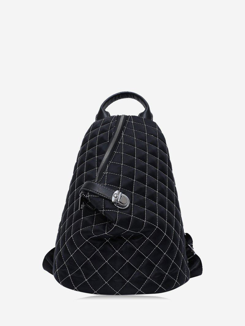 Affordable Casual Bucket Zipper Backpack