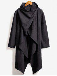 Solide Couleur Trench Casual -