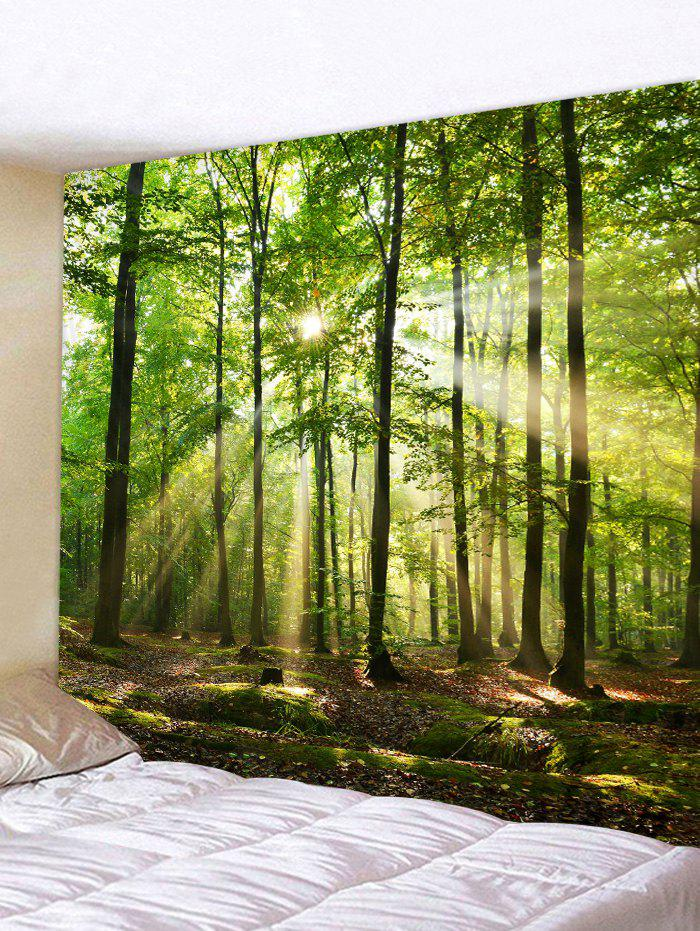Outfits Forest Sunshine Design Tapestry