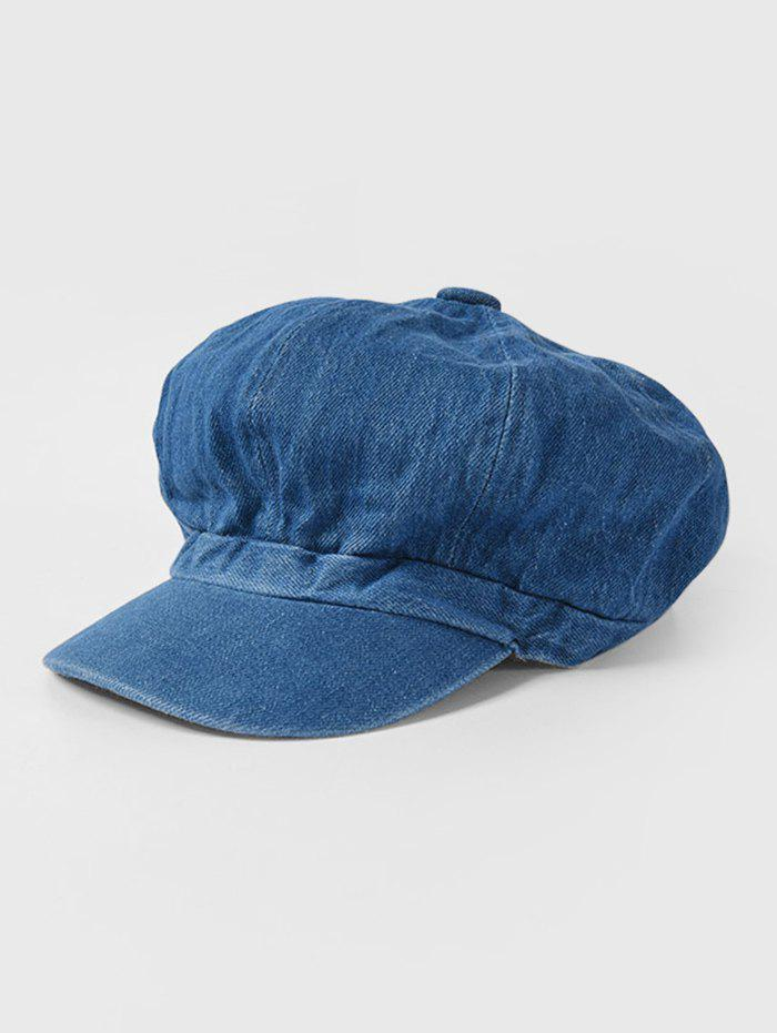 Fancy Octagonal Jeans Peaked Hat