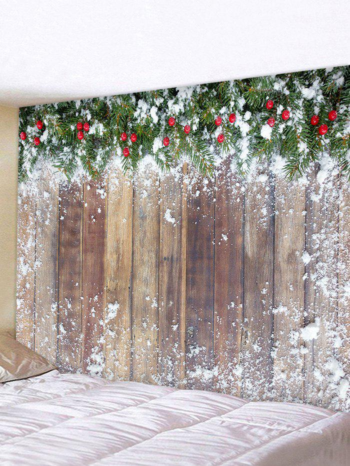 Discount Christmas Wooden Printed Tapestry