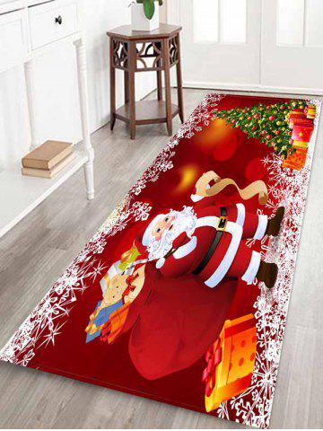 Christmas | Claus | Santa | Water | Gift | Tree | Area | Rug