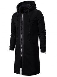 Zip Up Fleece Ярус Gothic Hoodie -
