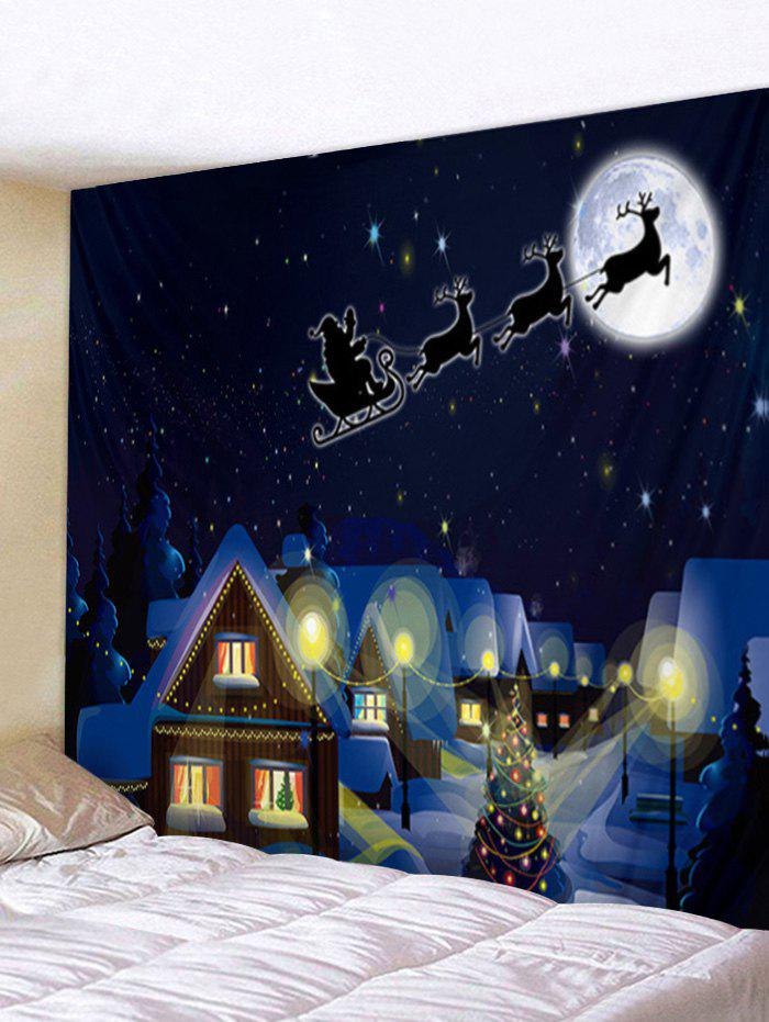 Outfits Christmas Scenery Print Wall Art Tapestry
