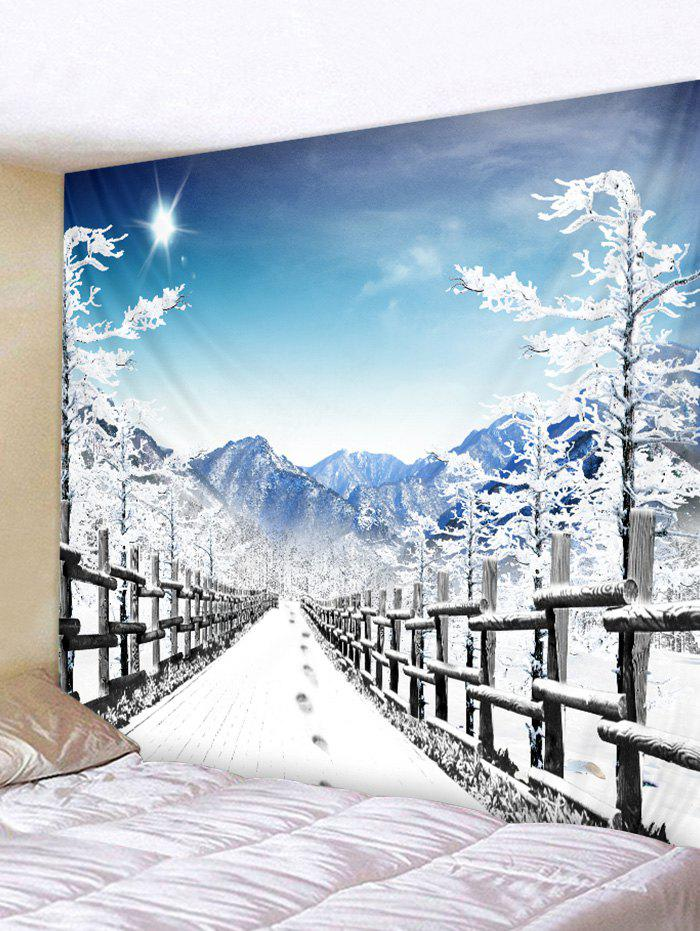 Shops Snow Road Printed Tapestry