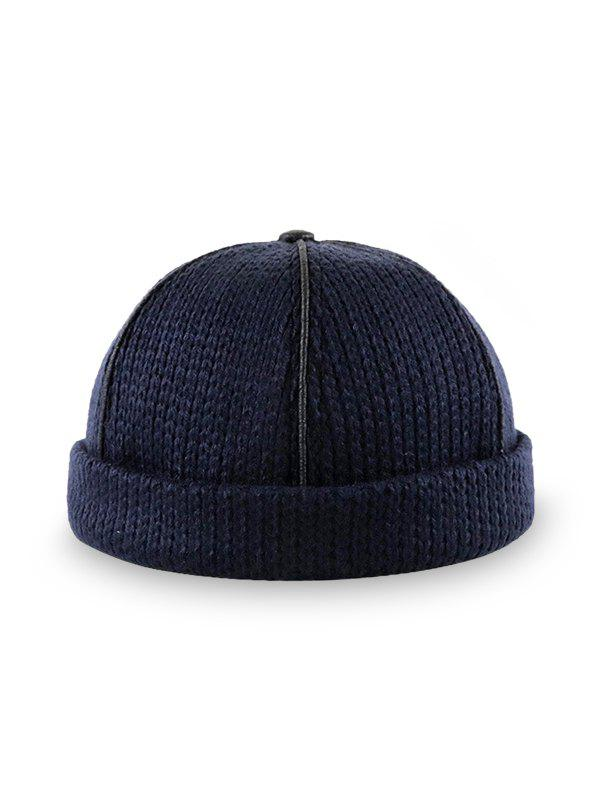 Best Solid Adjustable Knitted Dome Hat
