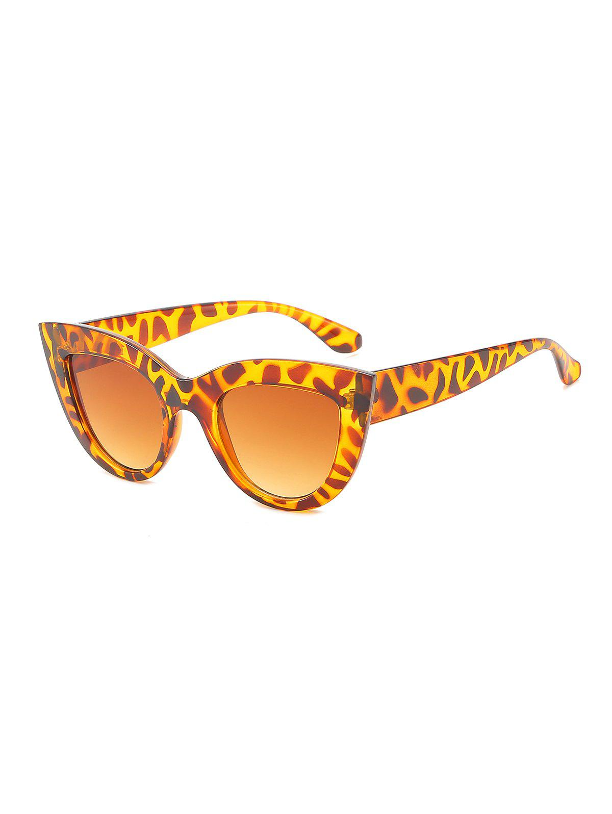 Affordable Catty Eye Wide Frame Sunglasses