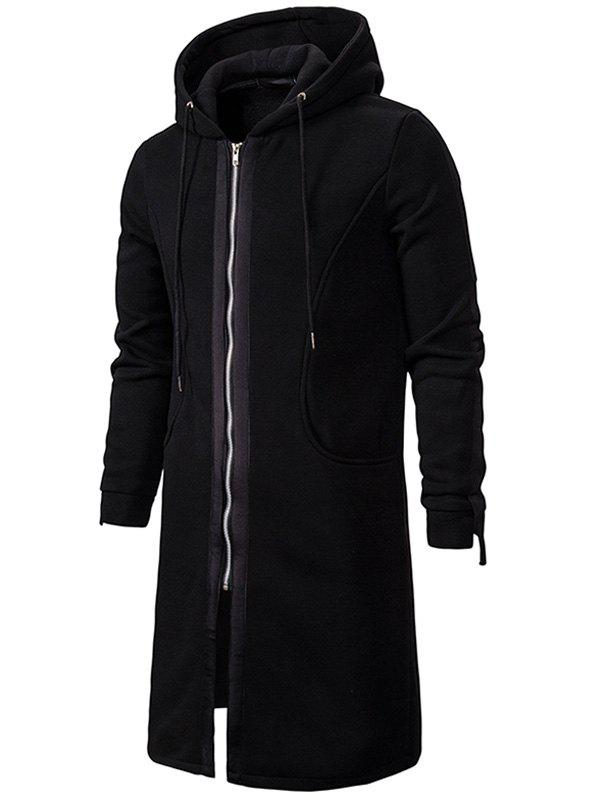 Zip Up Fleece Ярус Gothic Hoodie