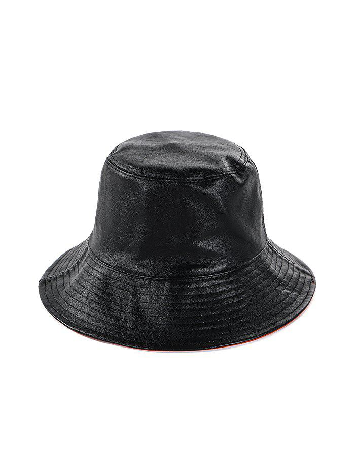 Store Double Faced Solid Round Floppy Hat