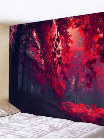 Forest Tree Leaf Printed Tapestry - from $16.99